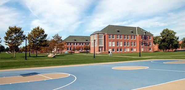 Campus and athletic Courts